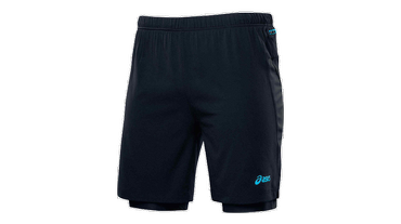 Asics M'S FUJI 2 IN 1 SHORT 110559 0904