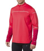 Футболка для бега Asics Lite Show Winter Ls 1/2 Zip Top 2011A040 600