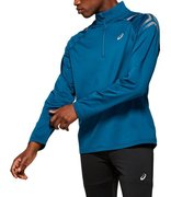 Футболка для бега Asics Icon Winter Ls 1/2 Zip Top 2011A044 404