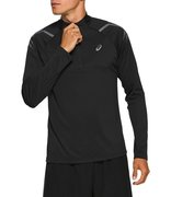 Футболка для бега Asics Icon Ls 1/2 Zip Top 2011A978 002