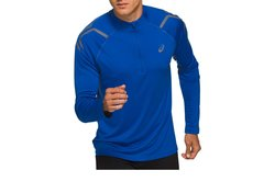 Футболка для бега Asics Icon Ls 1/2 Zip Top 2011A978 407