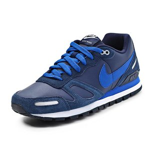 NIKE AIR WAFFLE TRAINER LEATHER 454395-411