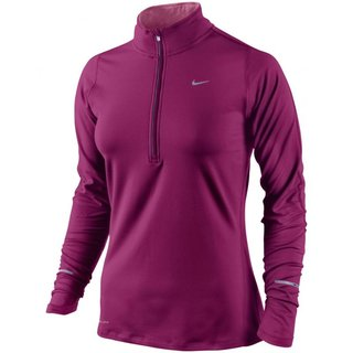 Nike ELEMENT 1/2 ZIP (WOMEN) 481320 660