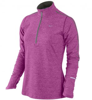 Nike ELEMENT 1/2 ZIP (WOMEN) 481320 677