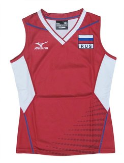 Mizuno GAME SHIRT RUS (WOMEN) 79QF300RUS-62