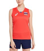 Футболка ASICS WOMAN RUSSIA SLEEVELESS TEE 156871 23RU