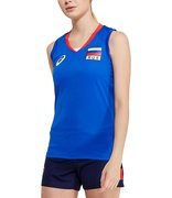 Футболка ASICS WOMAN RUSSIA SLEEVELESS TEE 156871 43RU