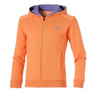 ASICS GIRLS FULL ZIP HOODIE JR 130918 0558