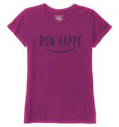 Brooks Run Happy Smile Ss T-shirt (W) 221009-617