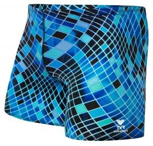 Tyr DISCO INFERNO ALL OVER SQUARE LEG SWIMSUIT ESBDF7A420