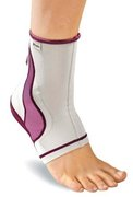 MUELLER LIFECARE ANKLE SUPPORT PLUM SM 40991