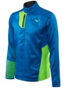 Мужская беговая рубашка MIZUNO BREATH THERMO PREMIUM WINDTOP J2GC6530-25