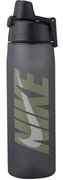 NIKE CORE HYDRO FLOW GRAPHIC WATER BOTTLE 24oz ANTHRACITE/VOLT/WHITE N.OB.81.065