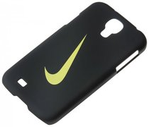 Чехол NIKE SWOOSH HARD PHONE CASE SAM S4 BLACK/VOLT N.IA.A4.023