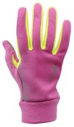 NIKE WOMEN'S TECH THERMAL RUNNING GLOVES M CLUB PINK/VOLT N.RG.56.670