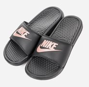 Женские сланцы Nike Benassi Just Do It (Women) 343881-007