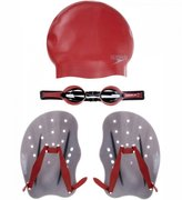 SPEEDO PERFORMANCE TRAINING PACK AU RED 8-090140004