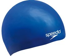 SPEEDO PLAIN MOULDED SILICONE JUNIOR CAP 8-709900002