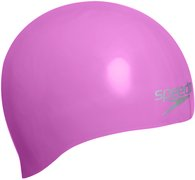 SPEEDO Plain Moulded Silicon Cap AU PINK 8-70984A064