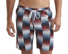 "Speedo Check Printed Leisure 18"" Watershort 8-078799385-9385"
