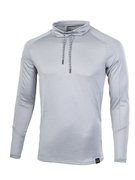 Мужская беговая рубашка Under Armour Lighter Longer Funnel Neck 1321779-035