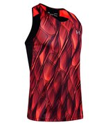 Мужская майка для бега Under Armour Qualifier Iso Chill Printed Singlet 1353468-628